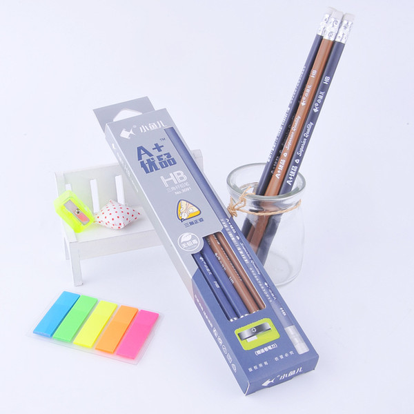 Xiaoyuer 3091 Rubber erste 12 Stifte HB Bleistift Studenten üben Kalligraphie schreiben