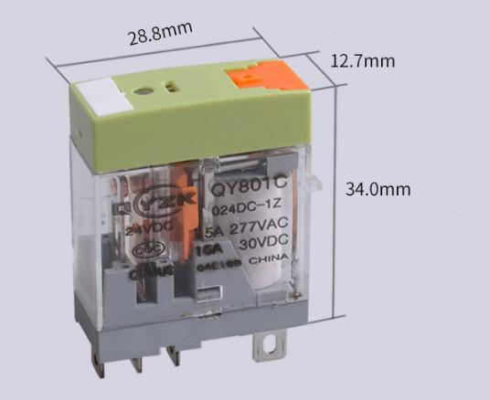 Electronic Accessories & Supplies 15A relay 24V a group of special relay for deceleration equipment
