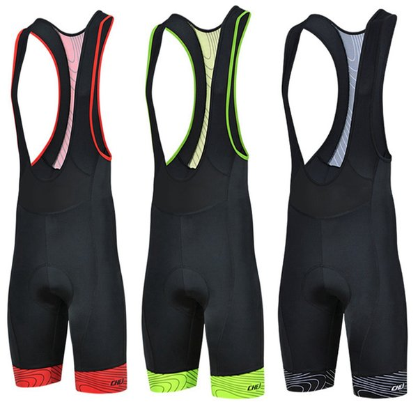 top popular Cheji Men Breathable Cycling Bike Bicycle 3D GEL Padded Bib Shorts culote ciclismo hombres Outdoor Hiking Shorts cuissard velo 2019