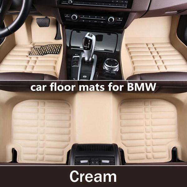 top popular 3D Custom Car Floor Mats for BMW X1 X3 X4 X5 X6 M4 M5 M6 2010 2012 2014 2017 2018 Years Carpets Car-styling Car Mats Vase 2114 2019