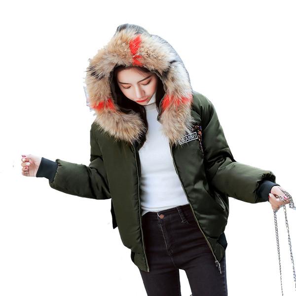 Großhandel 2018 Damen Mäntel Winter Fell Kapuze Parka Lässig Dicke Kran Stickerei Puffer Weiblichen Mantel Von Waistband18, $42.69 Auf De.Dhgate.Com |