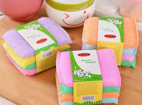 sponge scouring cloth scouring pad for cleaning ZI-423