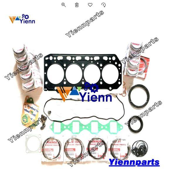 2019 4TNV88 4TNV88 XBV 4TNV88 ZMRB Overhaul Rebuild Kit For Yanmar on yanmar starter, yanmar parts catalog, diagram of a molded case switch diagram, yanmar parts breakdown, yanmar alternator wiring, yanmar fuel pump diagram, yanmar wire harness, yanmar ym2200 parts, ignition switch diagram, yanmar tractor, yanmar generator, yanmar engine diagram, yanmar 3gm30f parts diagram, yanmar voltage regulator,