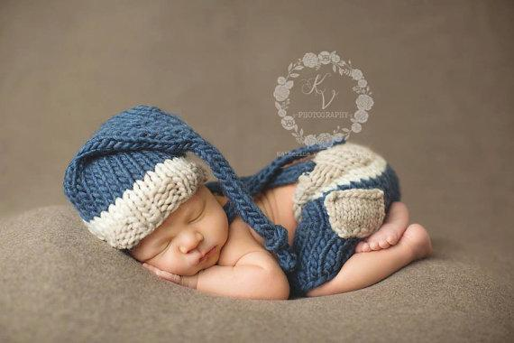 cc2816de793 Newborn crochet baby costume photography props knitting baby hat bow infant  photo props new born girls cute outfits