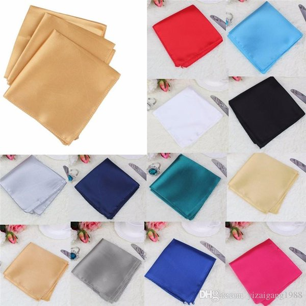 Ourwarm 100pcs Wedding Table Napkins 17 Inch Knitted Table Napkin Satin Handkerchief Cloth Dinner Wedding Decoration Party Event