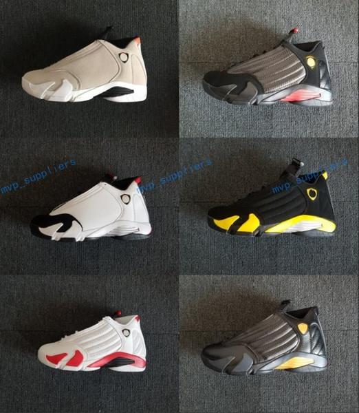 2018 14 XIV DESERT SAND men basketball shoes 14s BRED LAST SHOT Black Toe Candy Cane Sports Shoes sneakers women boots Athletics shoe