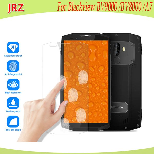 Tempered Glass For Blackview BV9000 BV8000 Pro Screen Protector Phone Replacement Easy To Install Film For Blackview A7 A7 Pro