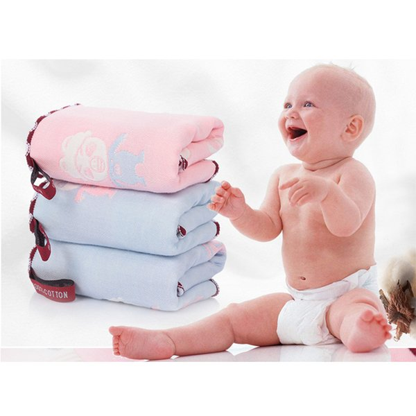 Cute Cartoon Handkerchief Towel For New Born Baby Washcloth Small Baby Towel Napkins Cotton Gauze Kids 25x25cm
