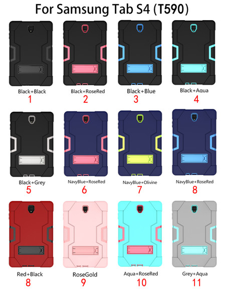 Heavy Duty Shockproof Armor Case for SamsungTab A 10.5 SM-T595 SM-T590 T590 T595 Hard Hybrid High Impact Defender Full Body Protective Case
