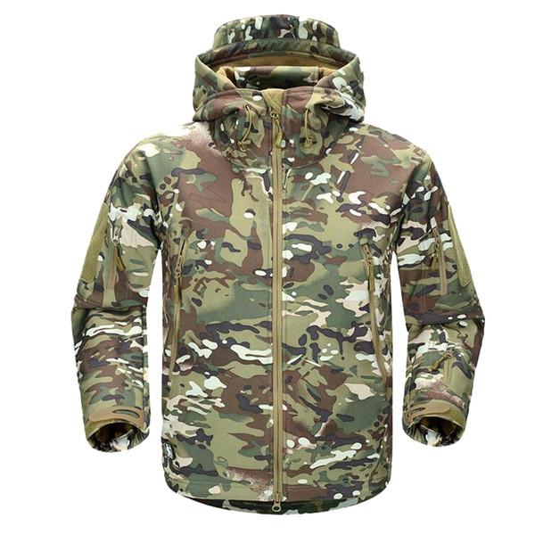 giacca invernale uomo mimetica