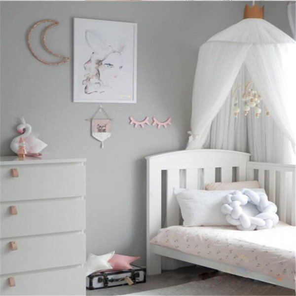 Summer Baby Bed Curtain Kids Mosquito Net Children Mesh Crib Netting  Princess Baby Bedroom Decoration Baby Photography Props Nursery Crib  Bedding Car ...
