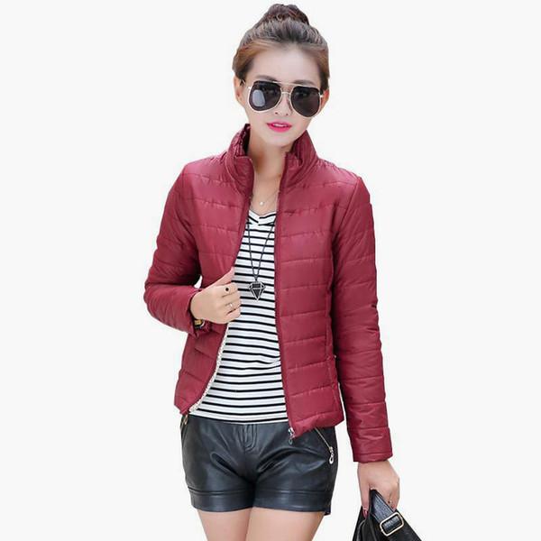 515549afa76 Женщины Новая Мода Твердые С Длинным Рукавом Женская Куртка Теплый Короткий  Основной Мягкий Дамы Повседневная Тонкий