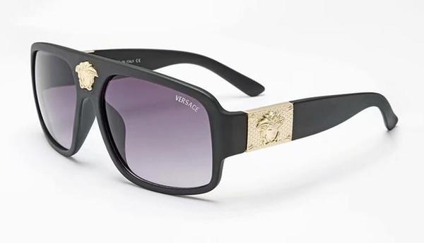 top popular Free ship fashion Luxury evidence sunglasses retro vintage men brand designer shiny gold frame laser logo women top quality with 40371 2019