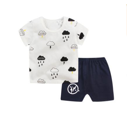 0036668d20f4 New Kids Girls Pajamas Sets Princess Pyjamas Sleepwear Home Clothing ...