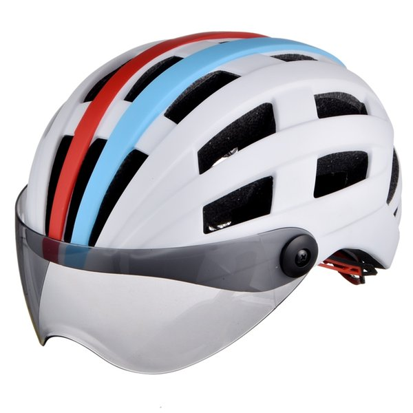 L-001 Bicycle Helmet MTB Mountain Road Bike Helmets Matte With Goggles Safety Adult 26 Air Vents Man Women Cycling Helmet