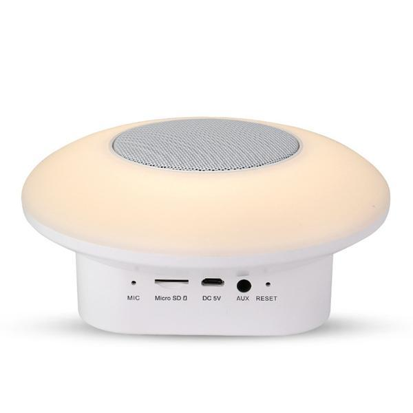 2017 New Arrival Sports Wireless Portable Mini BT Speaker With LED Light 3D Surround Sound And TF Card FM Radio Support