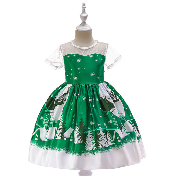 3D Floral Applique Flower Girls Dresses 2019 Cross Straps Backless Communion Party Gowns Puffy Tulle Birthday Ball Gown Girls Pageant Dress