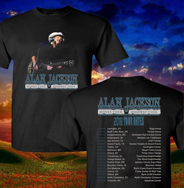 Cool T Shirt Companies Alan Jackson Shirt Honey Crew Neck Men Short Sleeve Compression T Shirts