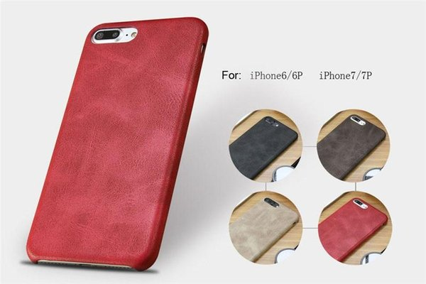 2018 Hot Sale Soft Leather PU leather phone Case for iPhone X 8 7 6 Plus Retro Luxury Business Back Cover Sansung S8 Note 8 DHL