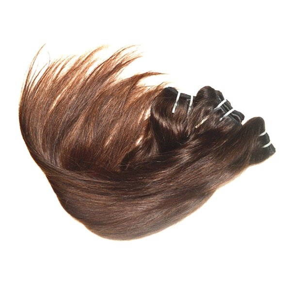 wholesale brazilian straight virgin human hair 1kg 20 bundles lot coffee brown color very soft texture good quality no shedding no tangles