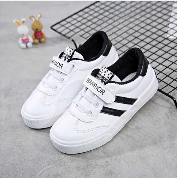 ea79b83605d3 2018 pull back authentic children s shoes new children s shoes men s sports  shoes female baby running white