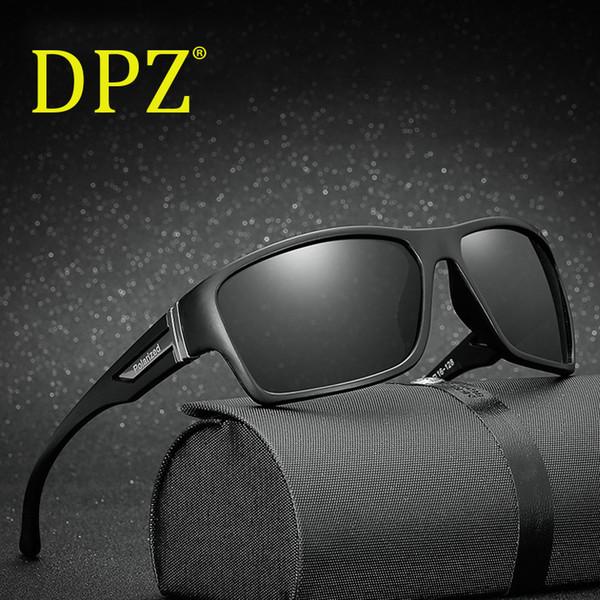 2018 DPZ Marca Moda uomo donna occhiali da sole polarizzati Specchio oculos Gafas Driving car occhiali da sole sport Specchio di visione notturna