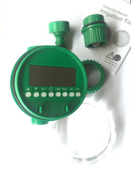 TOP Quality New Electronic LCD Water Timer Automatic Garden Irrigation Program Sprinkler Control Timer - Irrigation Timer