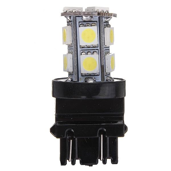 10X T25 3157 13 SMD 5050 LED Pure White Car Auto Stop Tail Brake Turn Lights Lamps Bulbs DC12V