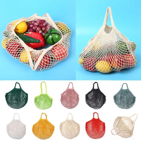 New 32*38cm Vegetables Fruit String Grocery Shopper Storage Bag Backpacks Travel Gadgets Closet Organizer Kitchen Accessories Home Decor