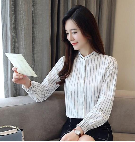 Frauen Tops Damen Hemden Aushöhlen Formell Tops Büro Hemden Bluse Arbeit