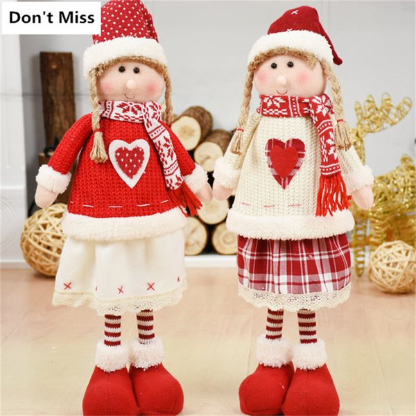 Beautiful Angel Girls for Christmas Decoration Best Gift for Kids Friend Lovers Natal Dekoration Ornaments Christmas Figurine