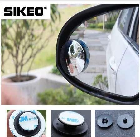 1pc Car Mirror 360 Wide Angle Round Convex Mirror Car Vehicle Side Blindspot Blind Spot Mirror Small Round RearViewr