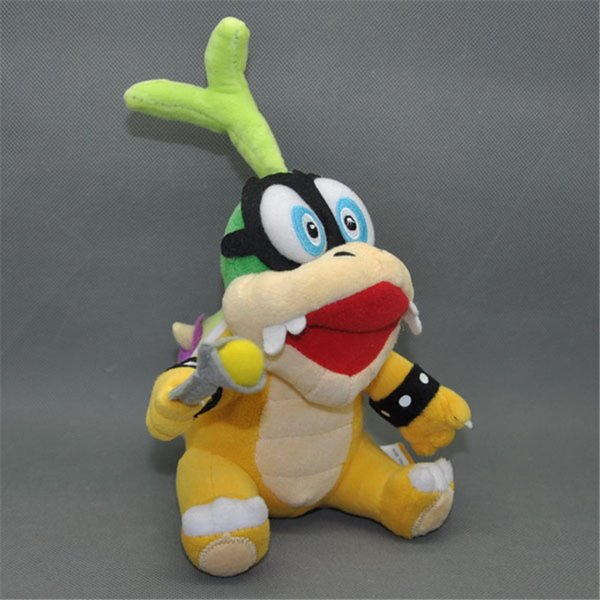 EMS Super Mario Bros Koopa Iggy 22CM Plush Doll Stuffed Best Gift Soft Toy