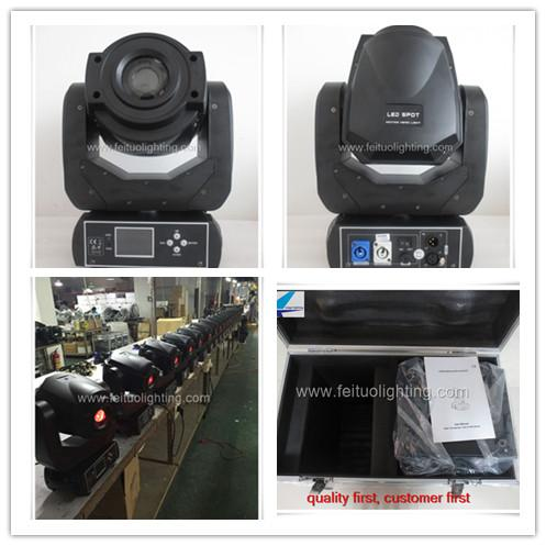 2light+ fly case 90w moving head spot led, 90w spot moving head light lyre for dj party wedding show stage light
