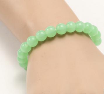 Imitação jade verde