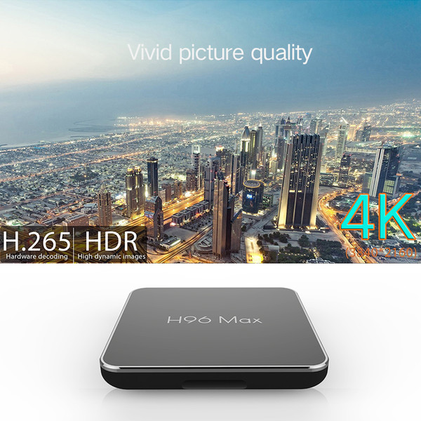 H96 Max X2 4G 64G Amlogic TV BOX Android 8 Top Box 2 4G 5G Wifi 4K 3D HD  Media Player Pk H96 Pro MAX H1 Android 7 1 TVBox Pc To Tv Box Tv Box Apps
