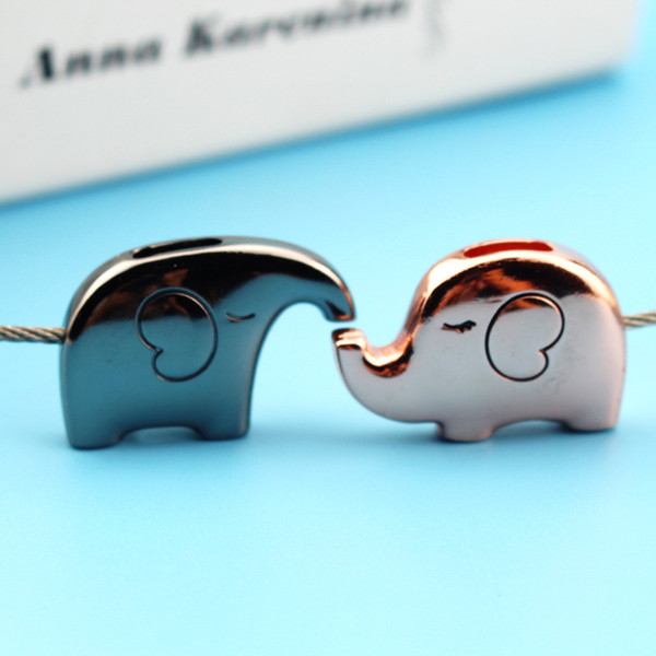 Elephant for Lovers Gift Bag Pendant A Couples Key Ring Trinket Key Chains Car Keychain chaveiro