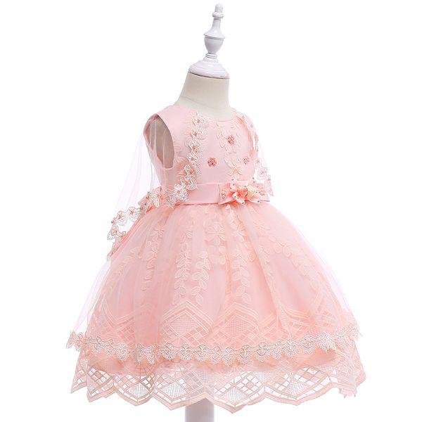 Großhandel Stickerei Prinzessin Abend Partei Langes Hinteres Kleid ...