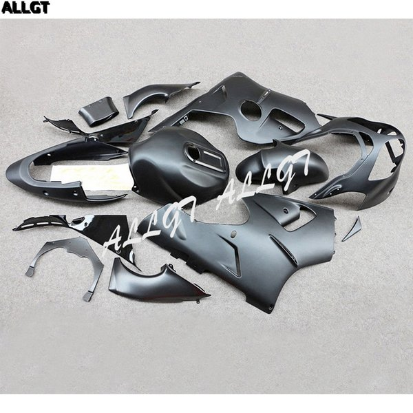 Matt Schwarz Motorrad Karosserie ABS Kunststoff Verkleidungen Kit Für Kawasaki Ninja ZX12R 2000 2001 ZX-12R 00 01