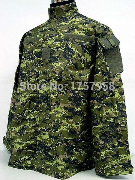 store buy online the latest 2019 Camouflage Canadian CADPAT Digital Woodland Camo ACU Style Uniform Set  CADPAT Digital Woodland Camo Shirt And Pants From Comen, $109.63 | ...