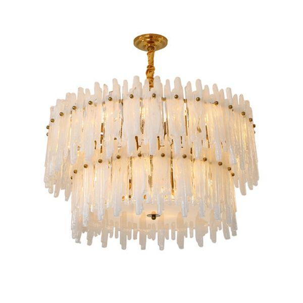 Post-modern crystal chandelier designer style lighting warm romantic bedroom dining room pendant lamp master bedroom chandelier lightings