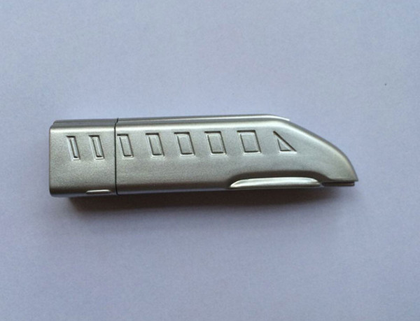 10 Piece 4GB 8GB ABS Locomotive Capacity Enough U Disk USB2.0 Flash Disk Plastic Train USB Flash Drives