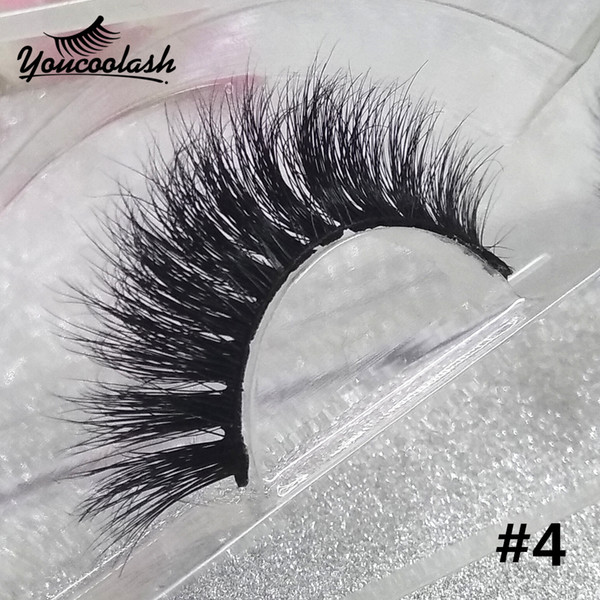 Wholesale Luxury Top 3D Mink lashes Natural False Eyelashes fake Eye Lashes 3D Strip Lashes 80 + styles YouCooLash Factory directly Supply