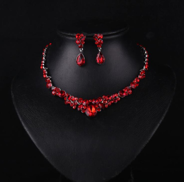 New bridal accessories, exquisite Red Necklace suit, Qipao dress accessories