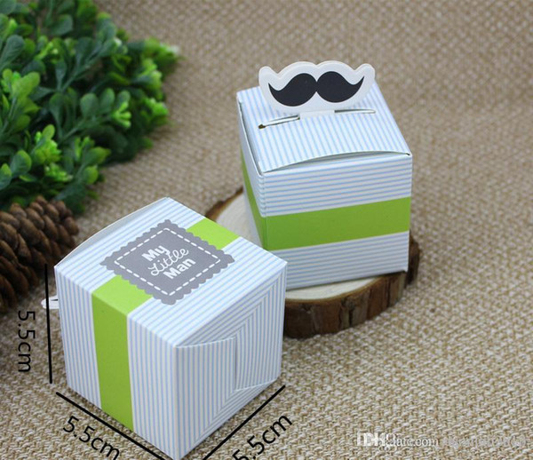 Candy Boxes Supply Accessories Favour Kraft Paper Sakal Sweet Bag for Wedding Creative Baby Gift Box Bags for Packaging