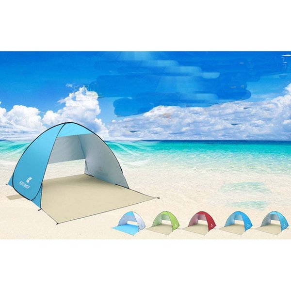 Automatic Beach Camping Tent UV Sun Shelter Tent for Beach Summer Outdoor Fishing Awning Instant Pop Up Sunshade