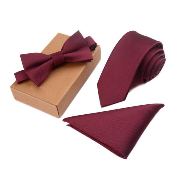 Узкий галстук-бабочка Мужчины Галстук-бабочка и нагрудный платок Галстук-бабочка Галстук-платок Cravate Платок Man Corbatas Hombre Pajarita