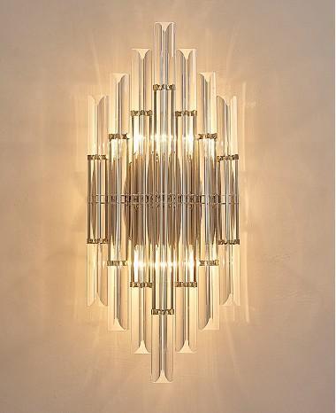 Moderne kurze wandleuchten wohnzimmer nacht kurze wandleuchten kreative kunst treppenflur led kristall wandleuchte wandleuchte l ...