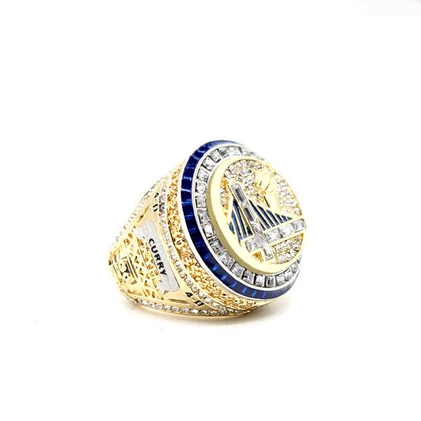 Guerreiro MVP jogador Durant, Curie campeão anel tamanho completo 8-13
