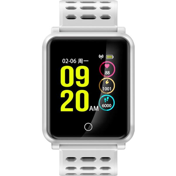 Swimming Smart Bracelet Heart Rate Monitor Children's Pedometer Women's Health Monitor Big Screen Waterproof Smart Sport Watch Man